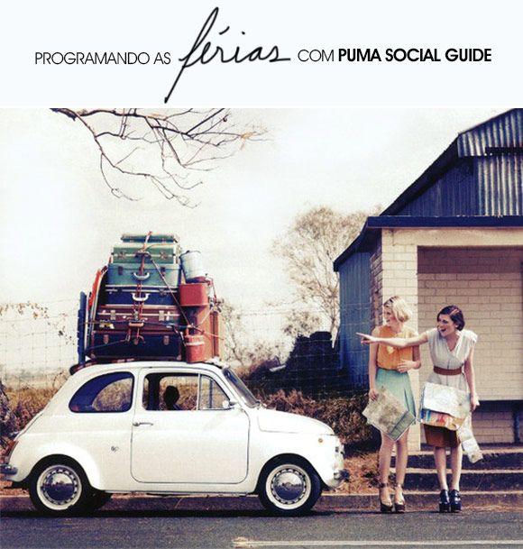 Achados da Bia | App | Viagem | Férias | Puma Social Guide