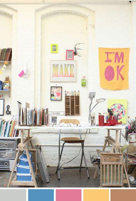 Achados da Bia | Inspiração o Dia | Décor | Home Office