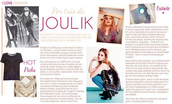 Achados da Bia | I Love Mag | Entrevista Joulik