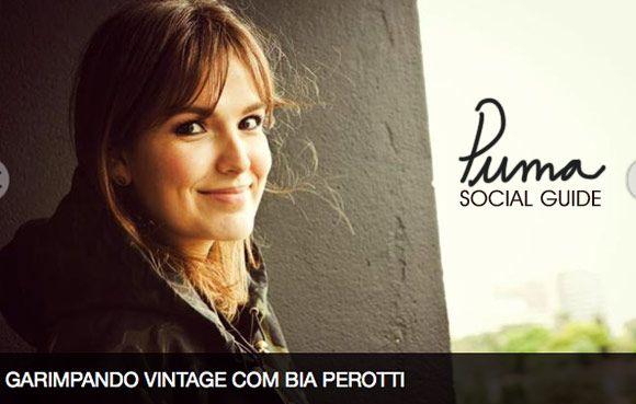Achados da Bia | Puma Social Guide | Garimpo Vintage