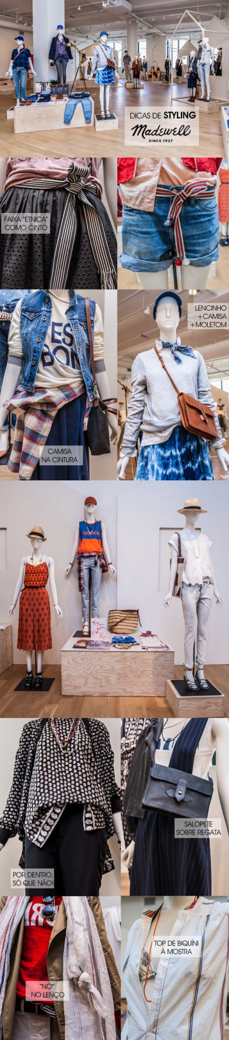 Achados da Bia | Moda | Styling | Lojas | Madewell