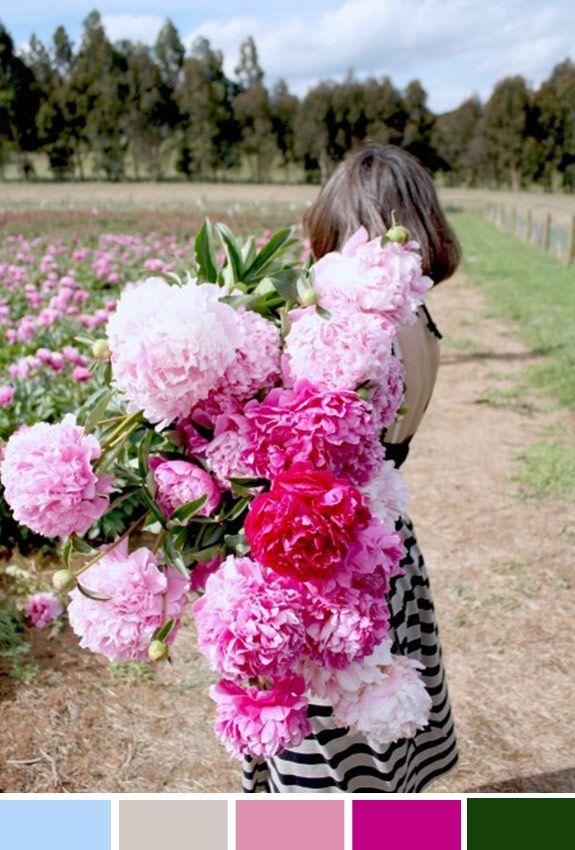 Achados da Bia | Inspiração do Dia | Arranjos florais