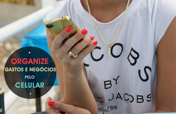 Organize gastos e seu negócio pelo celular