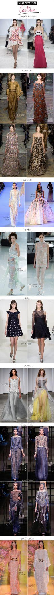 Achados da Bia | Desfiles | Couture