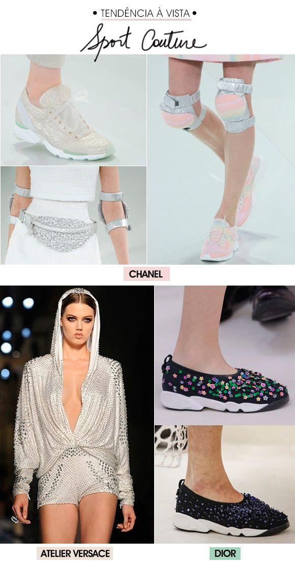 Achados da Bia | Desfiles | Couture | Tendência esporte