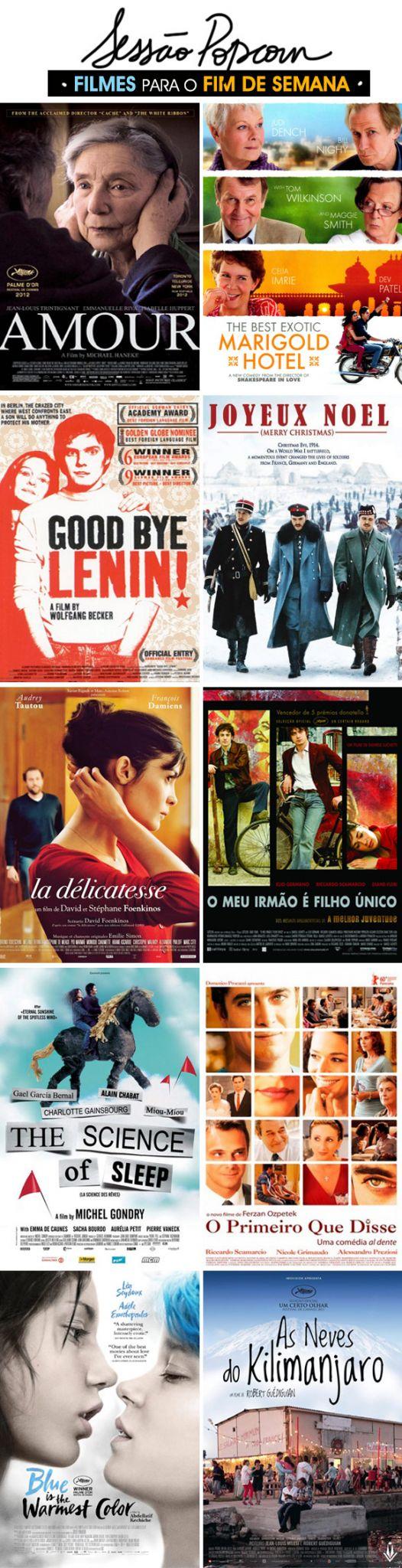 Achados da Bia | Filmes europeus