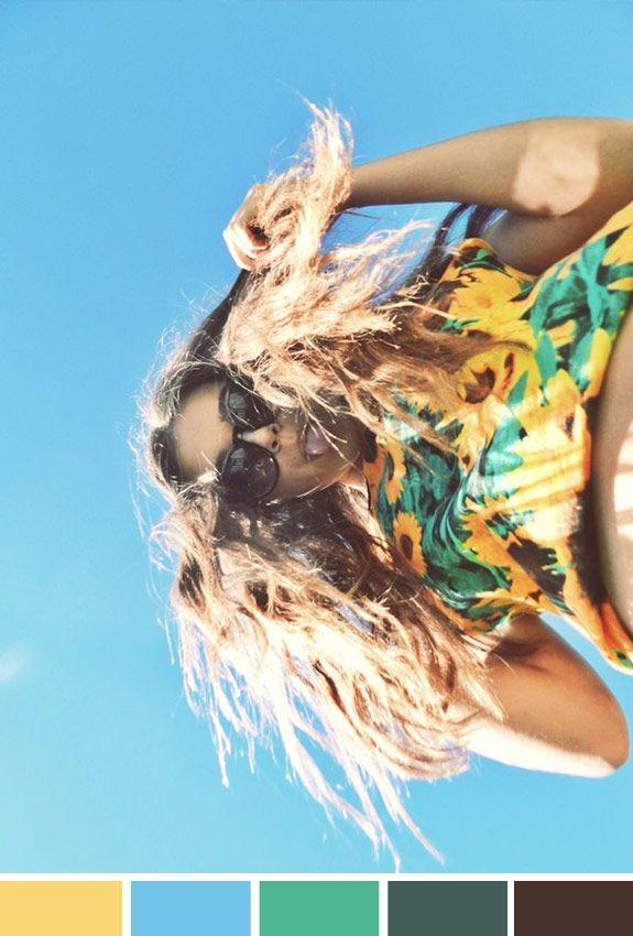 Achados da Bia | Inspiração do Dia | Moda | Cor e estampa