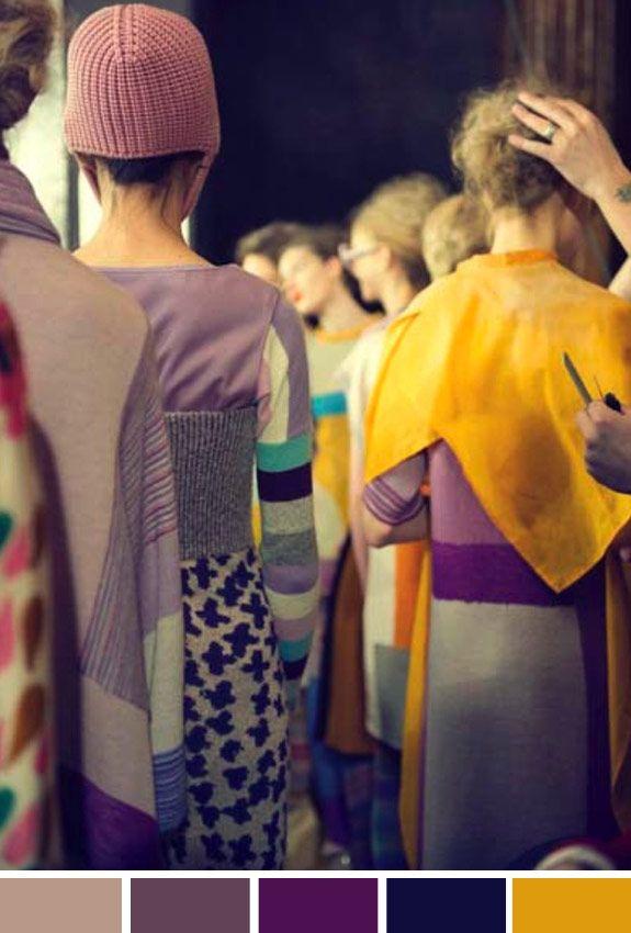 Achados da Bia | Inspiração do Dia | Moda | Cores | Desfile | Tsumori Chisato