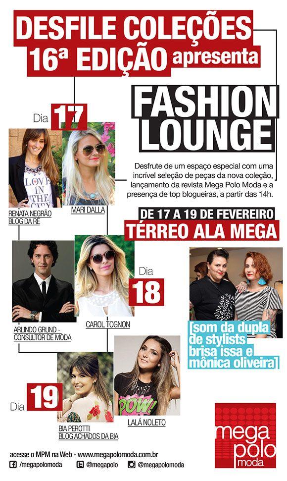 Achados da Bia | Evento | Mega Polo Moda | Convite