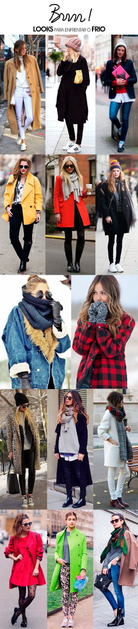 Achados da Bia   Moda   Look Frio   Inverno NY