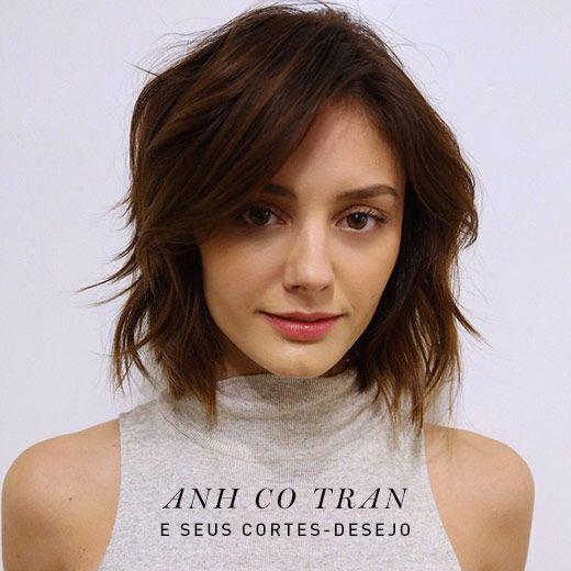 Os cabelos de Anh Co Tran