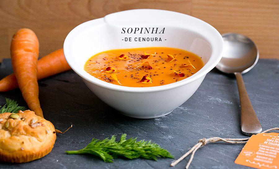 os Achados | Gastronomia | Sopa de Cenoura Detox Market